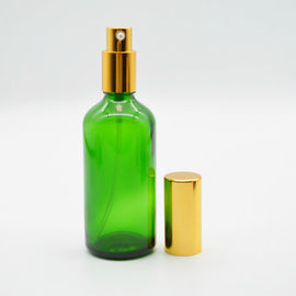 Customized Gold Soap Dispenser Pump Tops , Hand Lotion Pump With Plastic Cap